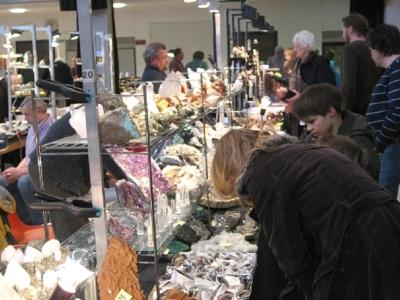 Mineralien und Fossilien Börse vom 02.03.2008