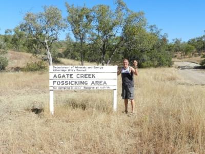 Achate von Agate Creek, Australien