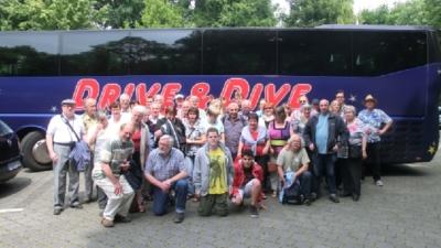 Mit 40 Teilnehmern wurde die Fahrt wie immer gut angenommen.
