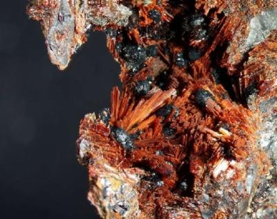 Beraunit (Oxiberaunit), Gr. Mark, BB=6mm, Foto:Noll, Sammlung:Mebus