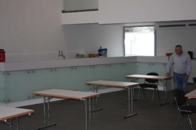 Die neue Cafeteria