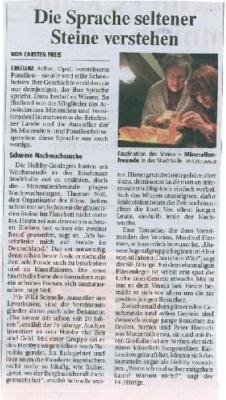 Artikel Rheinische Post 02.03.2009