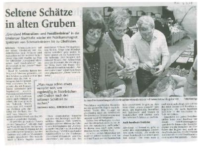 Artikel Heinsberger Zeitung 03.03.2009