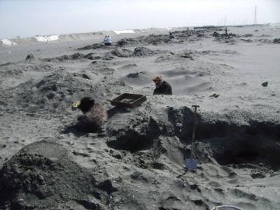 26 Grad und Windstärke 5-6. Wir sahen aus wie Sandmänner!