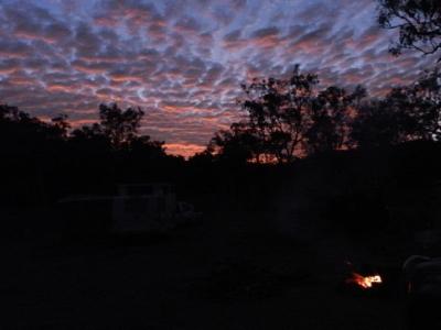 Sonnenaufgang über Agate Creek