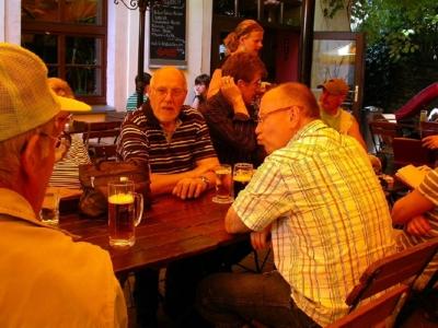 das Tschechische Bier ist zum Küssen gut...