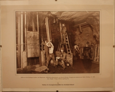 Bergbau war wirklich kein Zuckerschlecken.