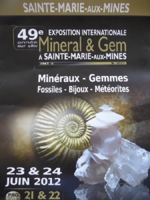 Sainte-Marie-aux-Mines. Ein Ausflug zu einer der drei größten Börsen weltweit.