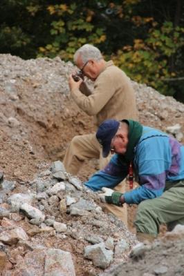 Okt. 2012, Hans-Peter und Sammlerkollege Kes aus den Niederlanden.
