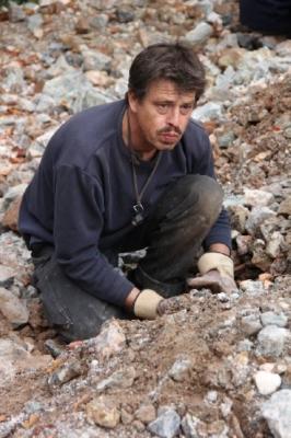 Okt. 2012, neben Gerd ein weiteres Mitglied des Clara-Kompetenz-Teams: Thomas aus Marburg
