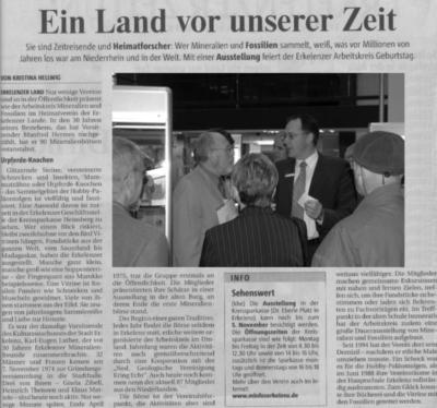 Rheinische Post vom 25.10.04