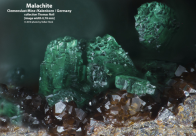 Neue Fotos unter Mineralien aus den Kupfergruben im Siebengebirge